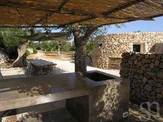 LE GRECHE - Petrea - cucina esterna