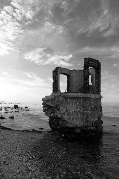 ruin , kap arkona / rügen 2013