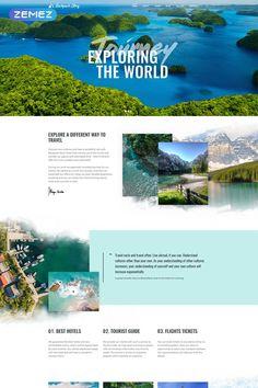 Travel Joomla Template No. 77055 | Joomla Template