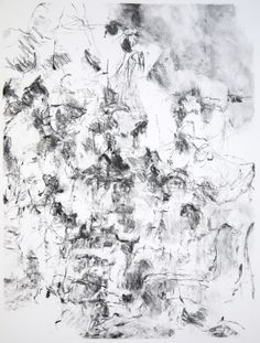 Karl Pilato, Vermont Drawing IV, 26 x 20 in., charcoal on paper, 2012