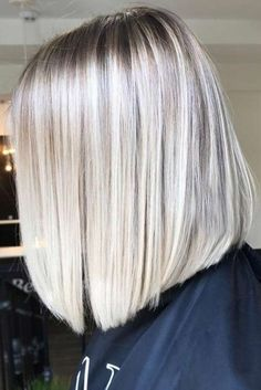 Ice Blonde Sleek Straight Hairstyles 2020 53 Platinum Blonde Hair Shades and Highlights for 2020 Of 98 Best Ice Blonde Sleek Straight Hairstyles 2020 Butter Blonde, Ice Blonde Hair, Platinum Blonde Hair Color, Blonde Hair Shades, Ombre Hair, Icy Blonde, Blonde Lob, Hair Dye, Long Bob Haircuts