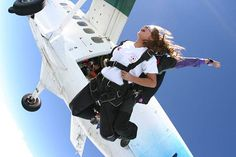 Skydiving - the thrill, the excitement, overcoming my fear of heights :)