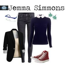 """""""Jemma Simmons - Agents of Shield"""" by marybethschultz on Polyvore"""