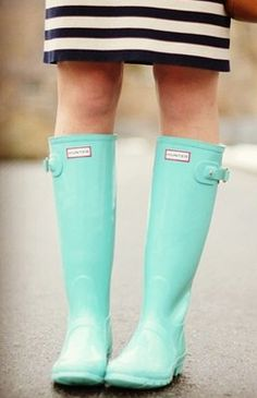 Love my black hunters....these would make a great addition to my rain boot collection!