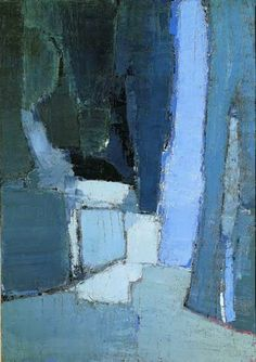 art art abstracto Nicolas de Stael : Entre art a Abstract Landscape Painting, Landscape Paintings, Abstract Art, Blue Painting, Watercolor Landscape, Painting Art, Art Moderne, Fine Art, Art Plastique