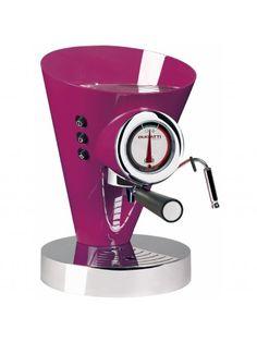 Bugatti Diva Espresso Coffee Machine Lilac