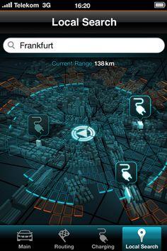 BMW i3 Concept, 2011 - Interface design