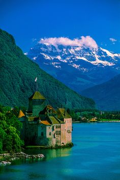 Castle of Chillon, Montreux, Switzerland © 2006 - Blaine Harrington III.