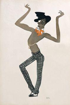 Paul Colin - Le Tumulte Noir, 1927