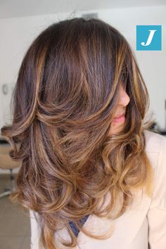 Sfumature e volumi personalizzati _ Degradé Joelle e Taglio Punte Aria #cdj #degradejoelle #tagliopuntearia #degradé #igers #musthave #hair #hairstyle #haircolour #longhair #ootd #hairfashion #madeinitaly #wellastudionyc