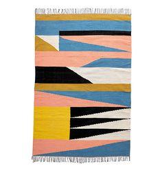 Desert Mural Rug by Herron for Land of Nod