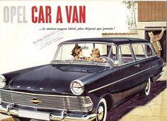 Opel Car a van