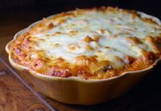 Baked Ziti with Mini Meatballs-this is one of my all time favorite things EVER!!! It's to die for delicious!