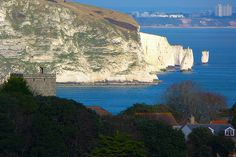 View taken from Durlston Country Park Dorset