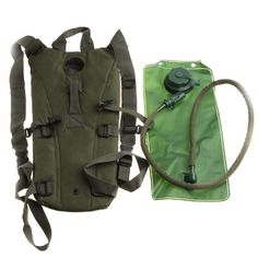 Best 2.5L TPU Hydration System Bladder Water Bag Backpack Army Green by AHMET >>> For more information, visit image link.