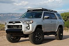 Gobi Toyota 4Runner LED Roof Rack Package 2010-15 - GT4RLED-1015 - Toyota 4Runner Gobi Roof Racks