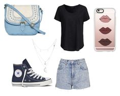 """""""Love it #111"""" by glamor234 on Polyvore featuring New Look, Topshop, Converse, T-shirt & Jeans, Casetify and Charlotte Russe"""