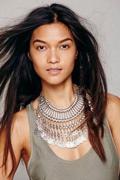 Chanour Womens Antalya Coin Collar