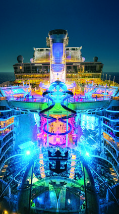 Harmony of the Seas Forget star gazing. Experience the bright nights and adventure lights on the world's biggest ship, brought to you exclusively by Royal Caribbean, and set to dock in the USA for the first time on November Best Family Cruise Ships, Best Family Cruises, Best Cruise, Cruise Tips, Cruise Travel, Cruise Vacation, Dream Vacations, Honeymoon Cruises, Caribbean Honeymoon