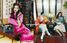 Design by Kim Hye Soon Hanbok & Hanbok Lynn & Traditional Korean Custom Kim Young Seok 김혜순 한복& 전통한복 김영석 & 한복린