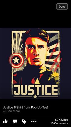 My Captain America t-shirt that is coming soon!
