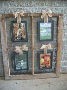 Old window idea