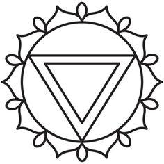 Chakra Symbols - Solar Plexus design (UTH5061) from UrbanThreads.com