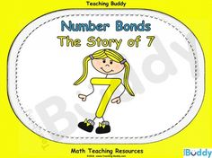 Number Bonds - The Story of 7 teaching resources - PowerPoint and worksheets