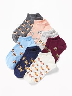 Shop Old Navy for women's socks and tights. From ankle socks to printed tights, complete your wardrobe with our cute socks. Short Socks, Crazy Socks, Cute Socks, Kids Socks, Shop Old Navy, Ankle Socks, Girls Shopping, Cute Outfits, Kpop Outfits