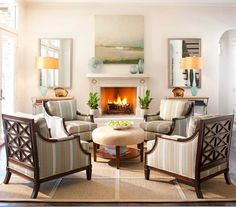 Decorating in Red Conversation area Room and Living rooms