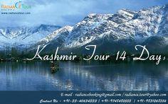 Kashmir Tour 14 Days. http://www.radiancetour.com/tour-detail/17/kashmir-vaishnodevi