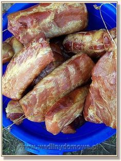 Smoker Recipes, Beef Recipes, Cooking Recipes, Kielbasa, Polish Recipes, Smoking Meat, Traditional Kitchen, Grilling, Good Food