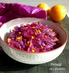 Cavolo rosso con arancia e cannella Ortaggi che passione by Sara