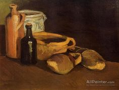 Vincent Van Gogh Still Life With Clogs And Pots oil painting reproductions for sale