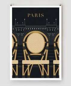 poster / Paris Traveler Series