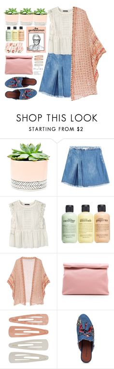 """""""the bohemio mules"""" by licethfashion ❤ liked on Polyvore featuring Hostess, See by Chloé, Violeta by Mango, philosophy, Mes Demoiselles..., Marie Turnor, Forever 21, Jeffrey Campbell, polyvoreeditorial and licethfashion"""