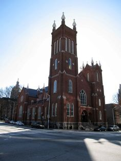 #Atlanta:The #Catholic 3Shrine of the Immaculate Conception Sacred & #Religious Sites, #Historic Sites,  & #Landmarks.