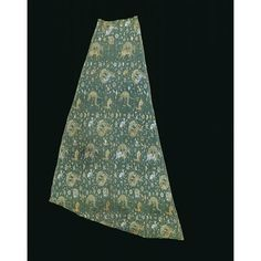 Iran (made) 16th century (made) Unknown (production) Silk, lampas-woven This fragment of silk was once part of a cope. This type of sleeveless hooded vestment was worn by priests at certain Christian church ceremonies.