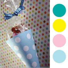 printable baby shower and party treat cones