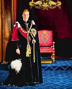 learned about this at the castle today. Prince william, the 1,000th knight of the order of the garter