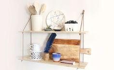 DIY: Fixa hyllan till köket – snabba och enkla hemmafixet - Gör det själv DIY, Hemmafix, Inredning: Kök, Pyssel - Hemmafix