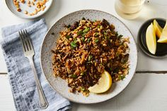 Crispy Cinnamon Beef Rice Recipe on Food52, a recipe on Food52 Rice Recipes, Fall Recipes, Beef Recipes, Simple Recipes, Yummy Recipes, Recipies, Slow Food, Food 52, Beef And Rice