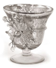 Look at this Floral Votive Holder on #zulily today!