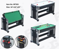 48 Inch Rotational Air Hockey and Pool Table from FPG Sports & Leisure Products Co., Ltd. Made-in-China.com Price Est. 3/17: $95 Each for 190+; Additional Discounts for Larger Orders.