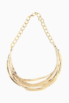 Stranded Collar Necklace - Nasty Gal