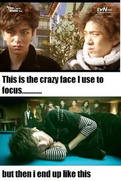 Hahaa i know someone who makes the same face as Byunghee x)