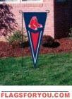 Red Sox Yard Pennant x House Flags, Garden Flags, Boston Red Sox, Yard, Socks, Decor, Stockings, Dekoration, Decoration