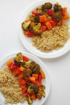 Quinoa con verduras al horno