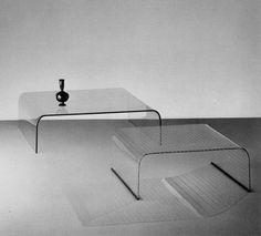 Tavolino, designed for Fiam by Angelo Cortesi