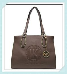 Luxury Michael Kors Jet Set Travel Logo Medium Brown Totes Makes You More Elegant. Different Life Gives You Diffrrent Enjoyment, And Cherish All That You Have. #CelebrateWith #MKTimeless